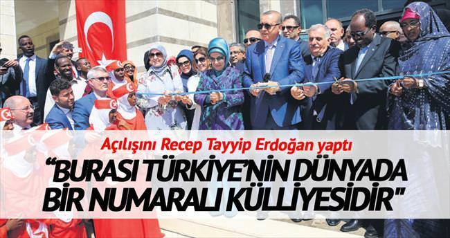 Erdoğan Mogadişu Büyükelçiliği'ni açtı