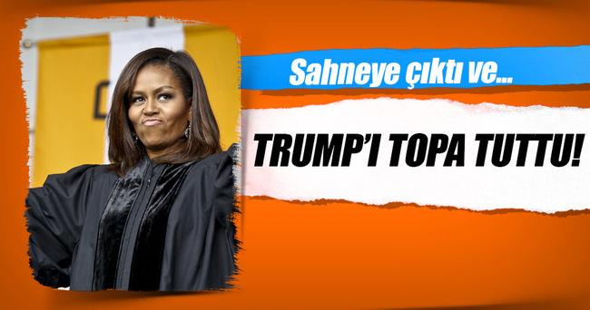 Michelle Obama Trump'ı eleştirdi