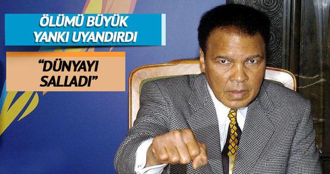 Muhammed Ali'nin vefatı, ABD medyasında geniş yer buldu