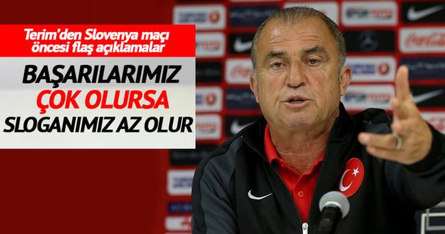 Fatih Terim: Her maçta performansımızın çok üzerine çıkmamız lazım