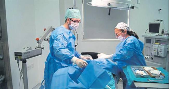 Norveçli aile kedisine göz ameliyatı yaptırdı