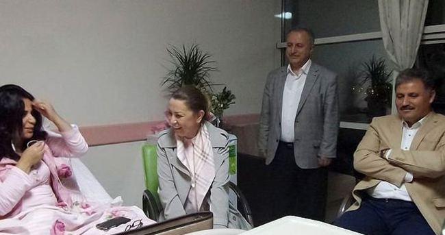 Cumhurbaşkanı Erdoğan engelli kadınla telefonda görüştü