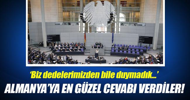 Ermeni vatandaşlardan Almanya'ya tepki!