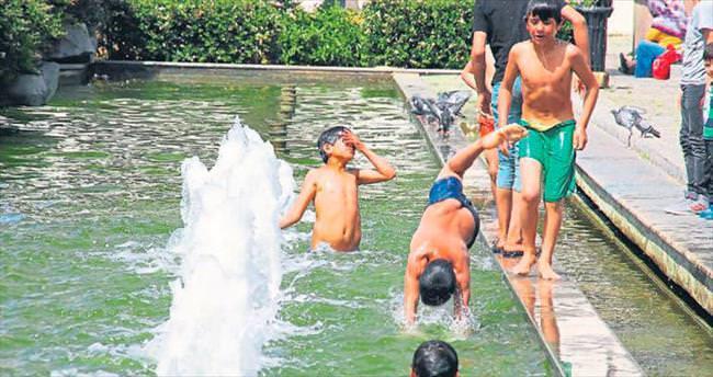 Yaz aylarında süs havuzlarına dikkat!