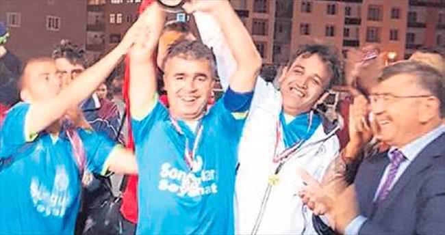 İl Milli Eğitim şampiyon oldu