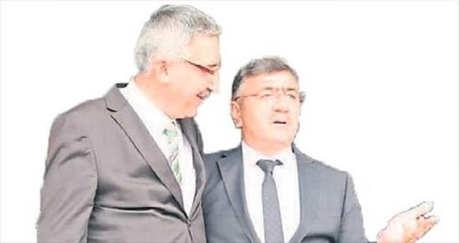 Vali Necmeddin Kılıç'tan Akdoğan'a veda ziyareti