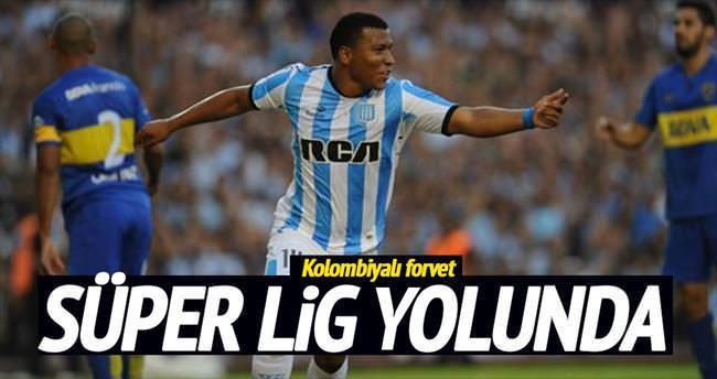 Trabzonspor'a Kolombiyalı forvet
