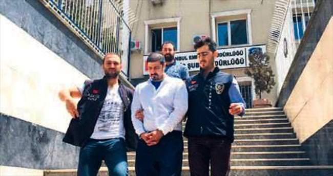 İranlı yankesici yakayı ele verdi