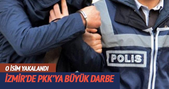 PKK'nın sözde Ege Bölge sorumlusu yakandı!