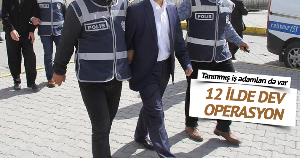 Adana'da dev operasyon: 59 gözaltı!