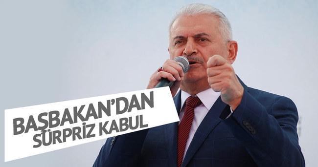 Başbakan Yıldırım, Dursun Özbek'i kabul etti