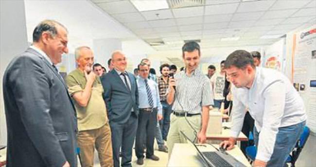 Genç mühendisler projelerini sergiledi