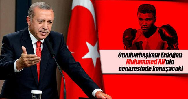 Cumhurbaşkanı Erdoğan Muhammed Ali'nin cenazesinde konuşacak
