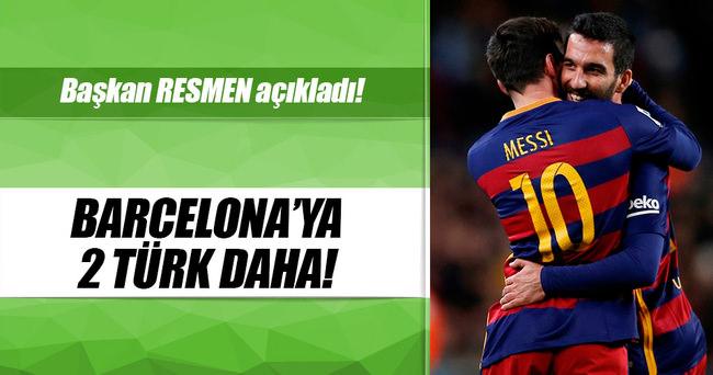 Barcelona'ya 2 Türk daha gidiyor!