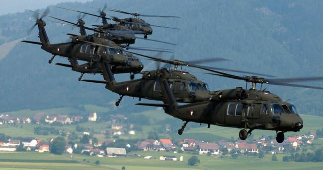 109 Kara Şahin Helikopteri için imzalar atıldı
