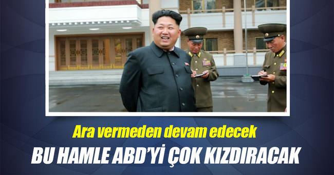 Kuzey Kore'nin nükleer faaliyetlerine devam edeceği açıklandı