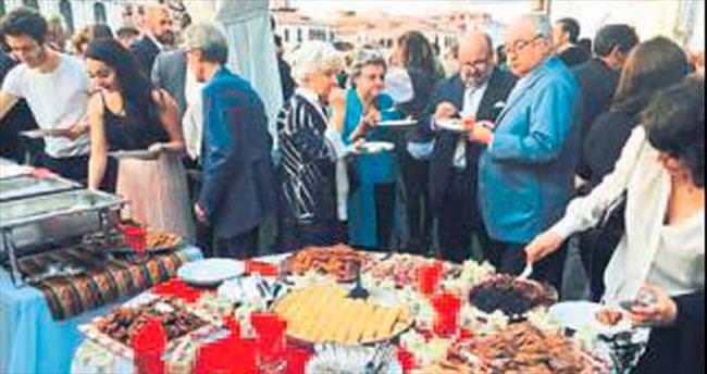 Gaziantep mutfağı Venedik'te tanıtıldı