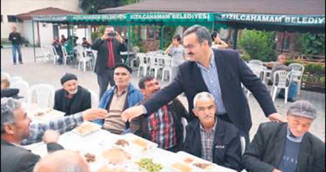 Kızılcahamam Belediyesi'nden ilk iftar
