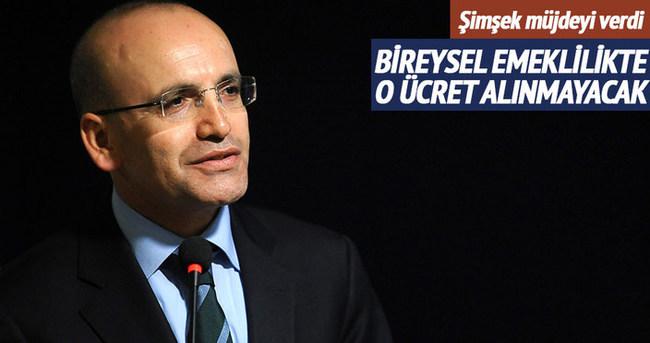 Mehmet Şimşek'ten BES müjdesi