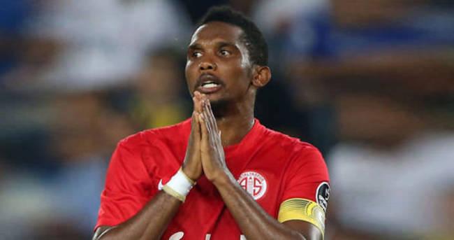 Antalyaspor'da Eto'o tartışması! Transfer...
