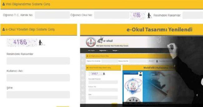 E-okul Veli Bilgilendirme sistemine girişi - TEOG Sonuçları