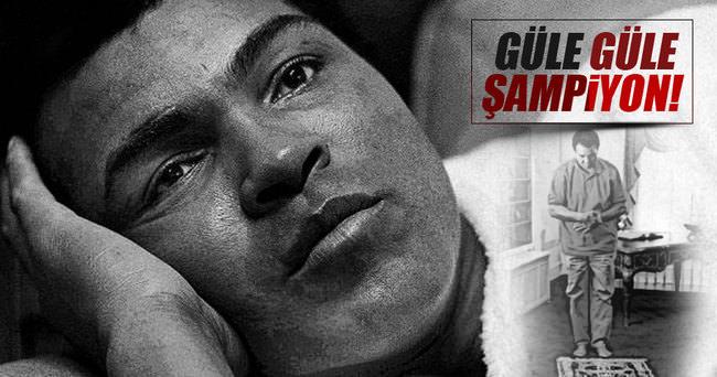 Muhammed Ali'nin son yolculuğuna uğurlanıyor
