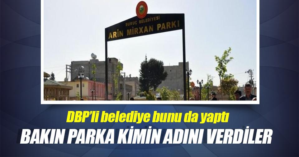 Suruç'taki parka canlı bombanın adı verildi