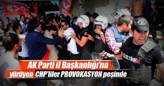 CHP'liler provokasyon peşinde