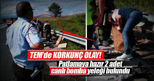 Patlamaya hazır 2 adet canlı bomba yeleği bulundu