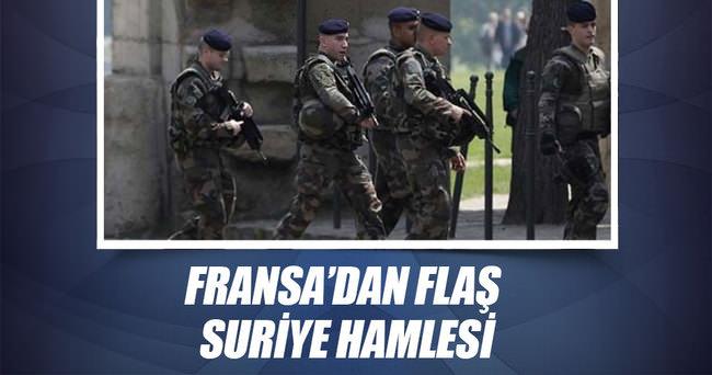 Fransa askeri Suriye'ye girdi