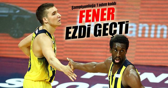 Fenerbahçe - Anadolu Efes maç sonucu