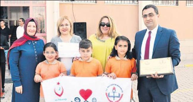 14 okula daha beyaz bayrak verildi