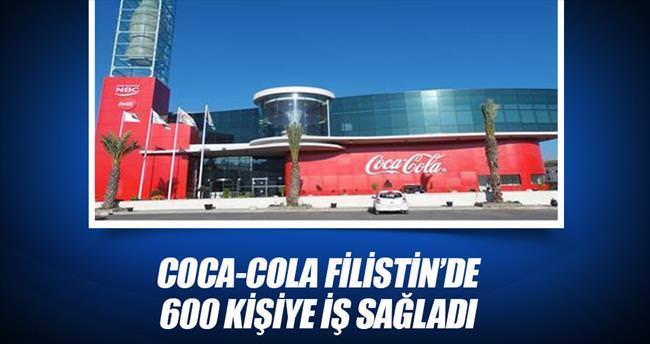 Coca-Cola Filistin'de 600 kişiye iş sağladı