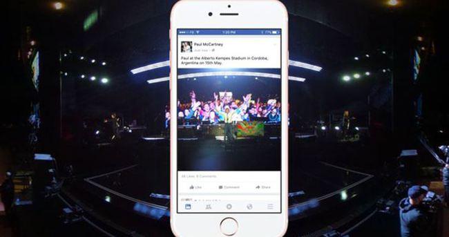 Facebook'a 360 derece fotoğraf desteği