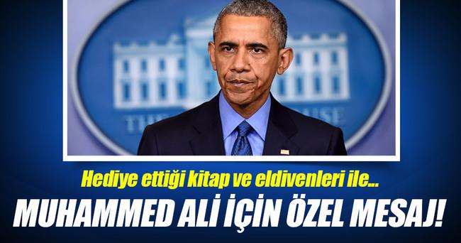 Obama'dan Muhammed Ali için özel mesaj!