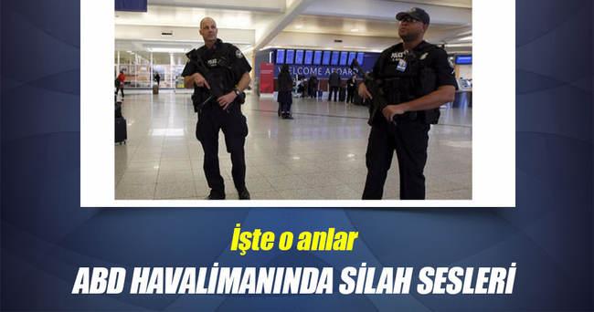 ABD'de havalimanında silah sesleri