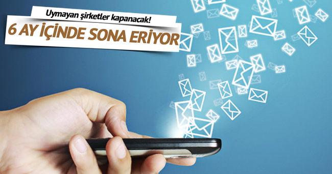 BTK'dan çok önemli SMS düzenlemesi