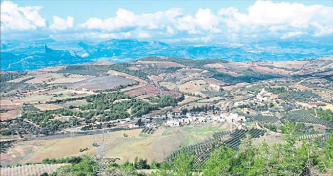 Şirin bir Akdeniz köyü Melemez