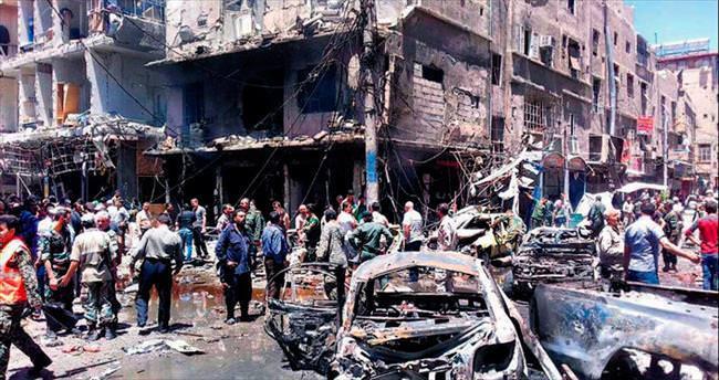 DAEŞ yine Şam'a saldırdı