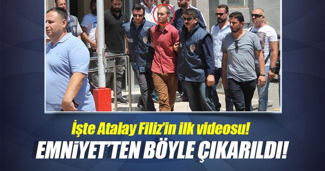 Atalay Filiz Emniyet'ten böyle çıkarıldı!