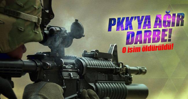 PKK'nın sözde Güroymak sorumlusu öldürüldü!