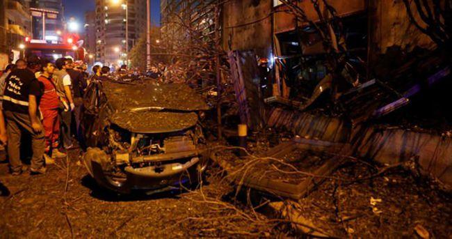 Beyrut'ta patlama: 2 yaralı