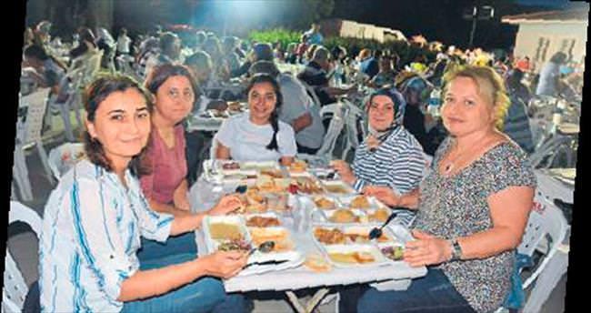 Kayaköy'de huzurlu iftar