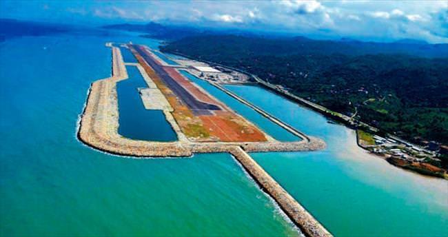 Deniz üzerine ikinci havalimanı