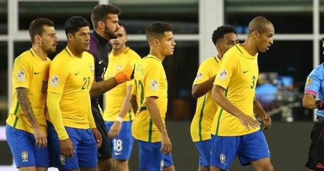 Brezilya'dan Copa America'ya şok veda!