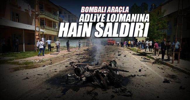 Tunceli'de adliye ve lojmanları yakınlarında patlama!