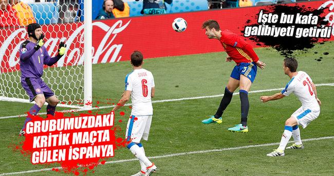 İspanya son dakikada 3 puanı kurtardı!