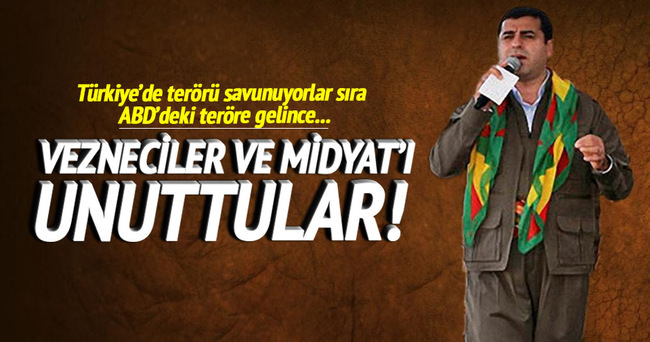 HDP'den çifte terör tutumu