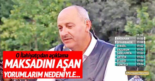 Prof. Mustafa Aşkar o sözleri ile açıklama yaptı