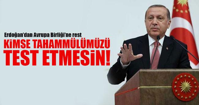 Erdoğan: Bizi sadece 79 milyon izlemiyor